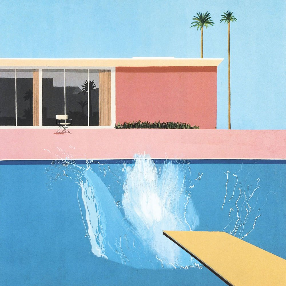 David Hockey A Bigger Splash