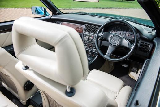 Princess Diana Audi Auction Interior