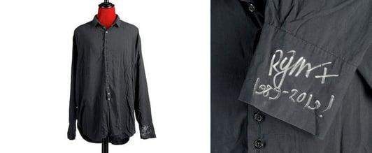 Robert Smith Shirt Auction1