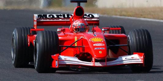 Ferrari F2001 F1 Car sells at auction for $7.5m