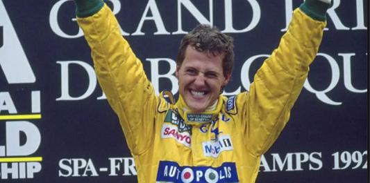 History of Michael Schumacher