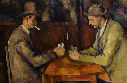 Most expensive paintings - Paul Cézanne - The Card Players - $250m in 2012