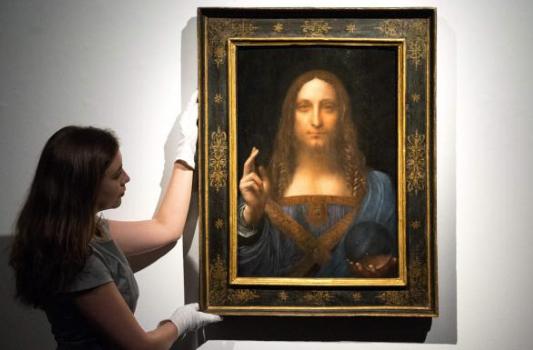 Most expensive paintings - Leonardo Da Vinci - Salvator Mundi $450.3m in 2017