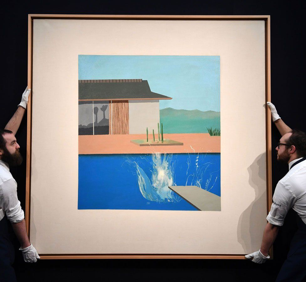 hockney splash auction sothebys