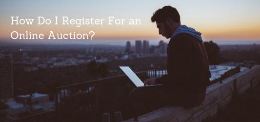 How do I register for an auction?