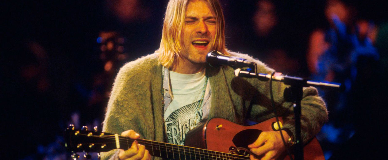 Kurt Cobain Cardigan Auction