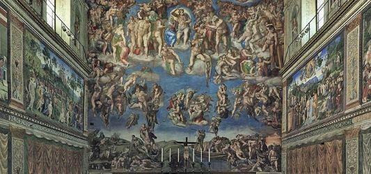 The Last Judgement (1536-1541) - Michaelangelo
