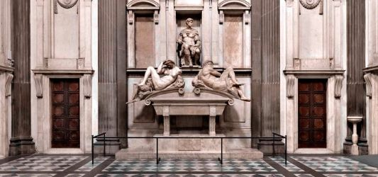 Medici Chapel (day, dusk, day and dawn), (1520-34) - Michaelangelo