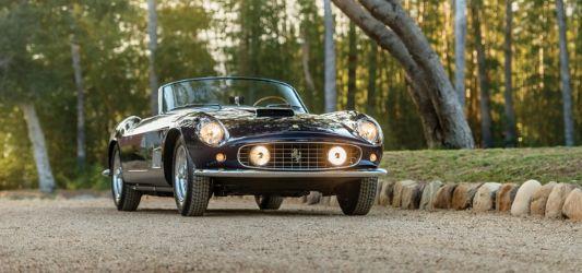 1958 Ferrari 250 California LWB Spider sells for $9.9m at Monterey Car auction