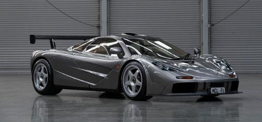 """1994 McLaren F1 """"LM-spec"""" sells for $19.8mat Monterey Car auction"""