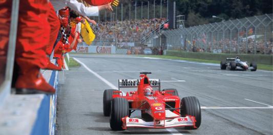 Ferrari F2002 consigned to auction
