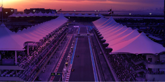 Ferrari F2002 auction at the Abu Dhabi Grand Prix