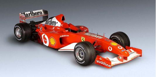 Ferrari F2002 F1 car auction