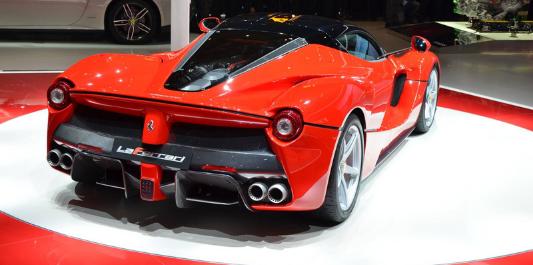 Ferrari LaFerrari Design