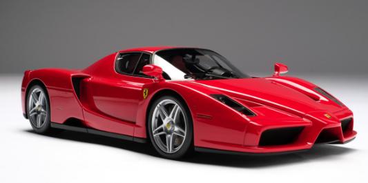 Top 5 Ferraris of all time - Ferrari Enzo
