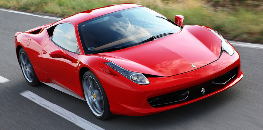 Top 5 Ferraris of all time - Ferrari 458
