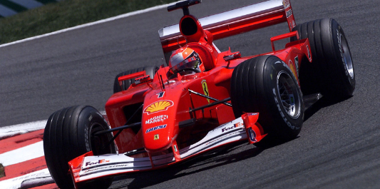 F2001 sells for $7.5m in auction