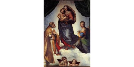 Sistine Madonna (1513-1514) - Raphael