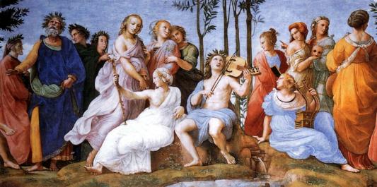 The Parnassus (1510-1511) - Raphael