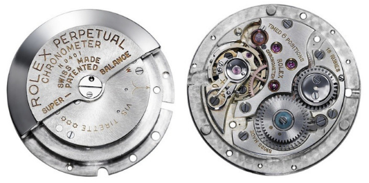 In 1931, Rolex created the first self-winding mechanism