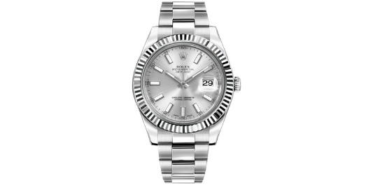 The Rolex Datejust was released in 1945 and became the first watch to display the date