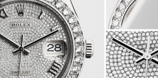 The Rolex Pearlmaster was released in 1992 and combines fine watchmaking with jewellery