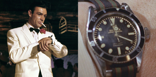 The Rolex Submariner was released in 1953 and became known as the divers' watch
