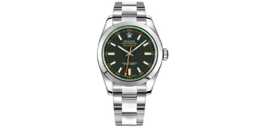 The Rolex Milgauss was released in 1956 and can function in up to 1,000 gauss
