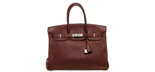 birkin bag in auction