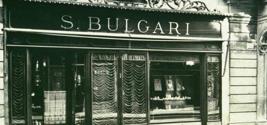 Sotirios Voulgaris creates BVLGARI