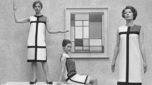 Yves Saint Laurent Mondrian Collection