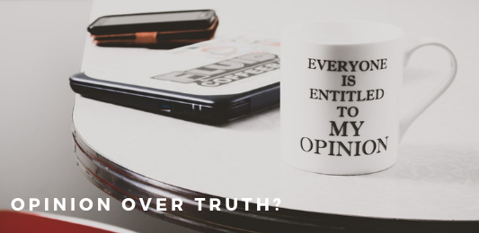 why opinions in art matter more than truth