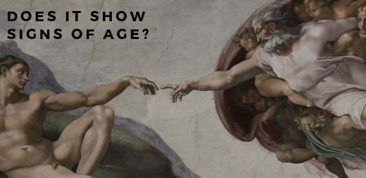 fake art tip - does it show signs of age?