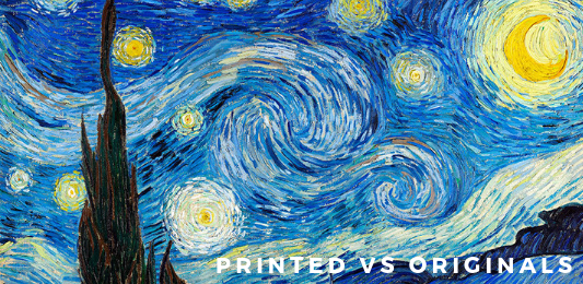 Fake art tip - how to identify a printed artwork