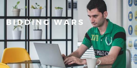 Common online mistakes - bidding wars